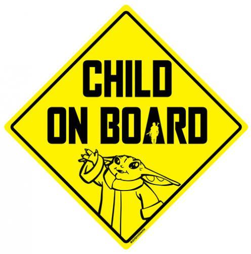 Vehicle sticker design based on The Mandalorian.