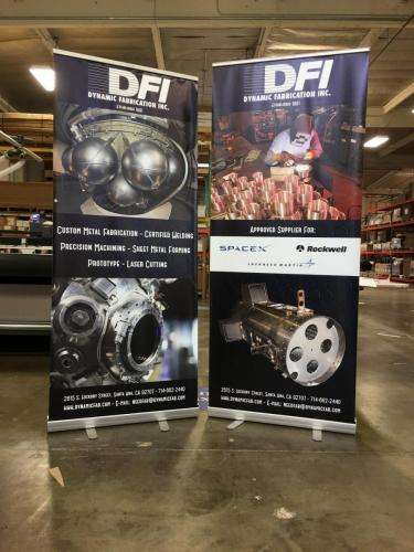 DFI Trade Show Banners